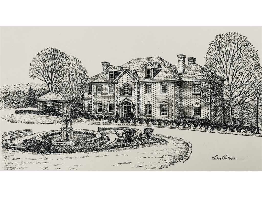 Pen & ink Wilberger House
